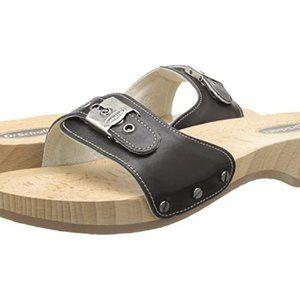 Dr Scholl's Originalist Black Sandals new 9.5